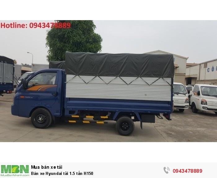 Bán xe Hyundai tải 1.5 tấn H150