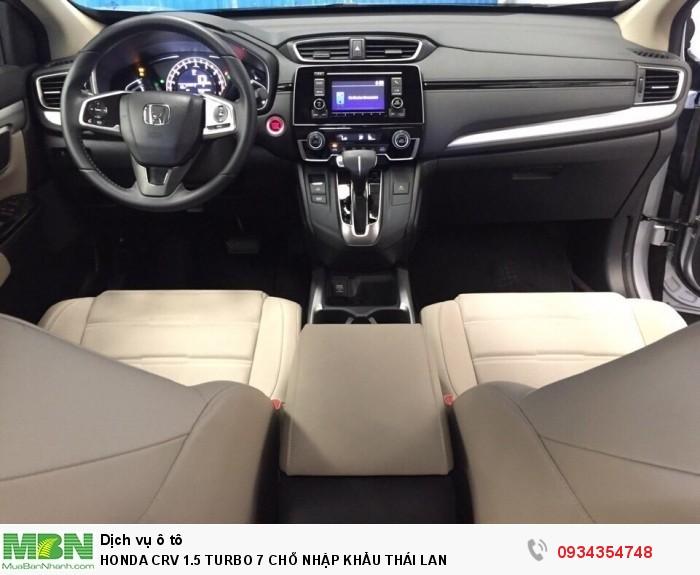 Honda Crv 1.5 Turbo 7 Chỗ Nhập Khẩu Thái Lan 5