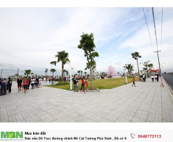 Bán nền D6 Trục đường chính  N6  Cát Tường Phú Sinh , Đã có  SHR