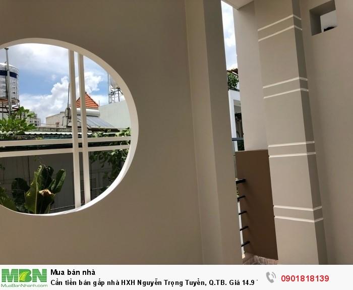 Cần tiền bán gấp nhà HXH Nguyễn Trọng Tuyển, Q.TB. (Xe hơi để trong nhà được)
