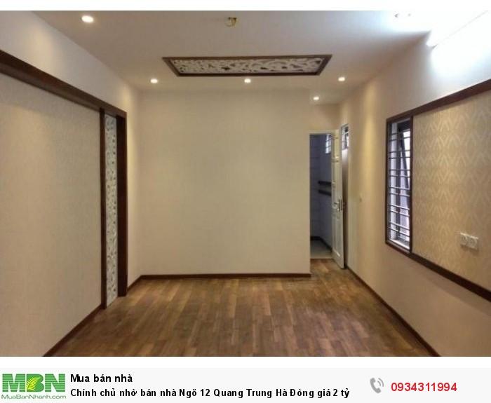 Chính chủ nhờ bán nhà Ngõ 12 Quang Trung Hà Đông