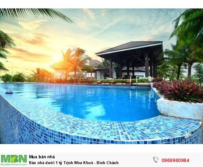 Bán nhà dưới 1 tỷ Trịnh Như  Khuê - Bình Chánh