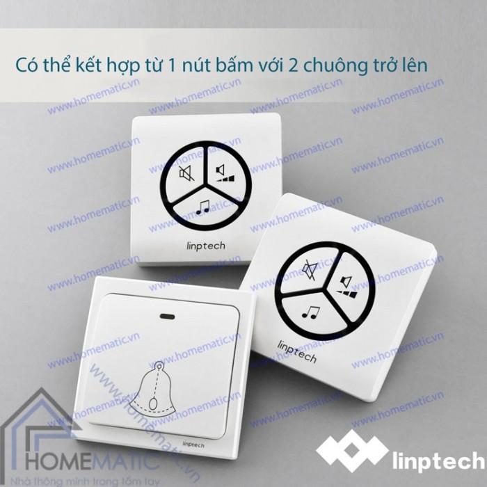 Chuông không dây, không dùng pin LINPTECH LP100SW3