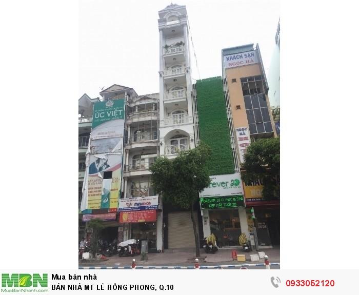 Bán Nhà Mt Lê Hồng Phong, Q.10