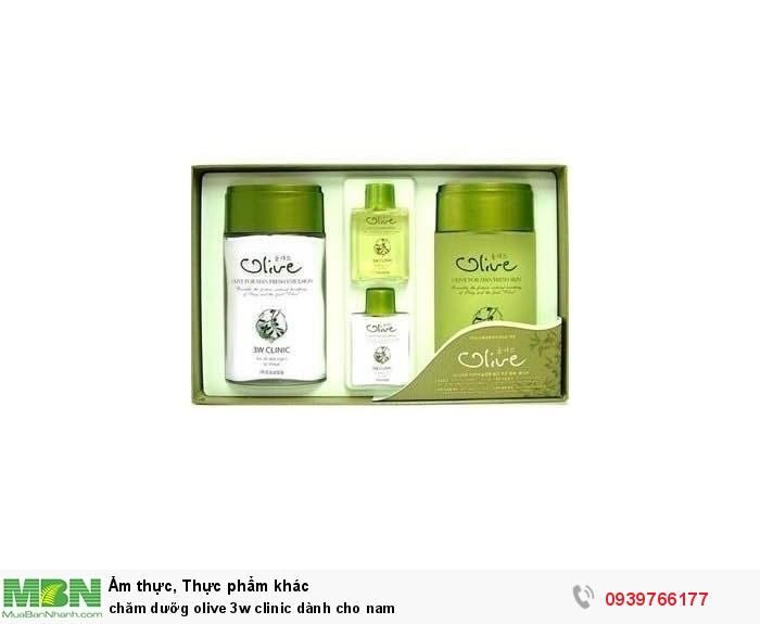Chăm dưỡng olive 3w clinic dành cho nam0