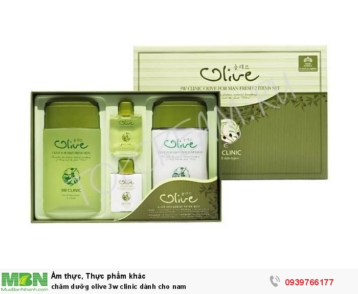 Chăm dưỡng olive 3w clinic dành cho nam3