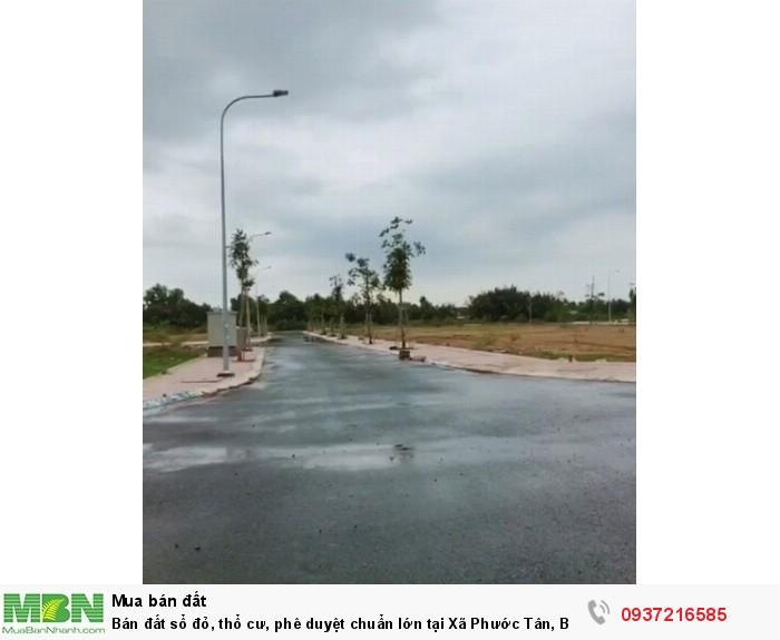 Bán đất sổ đỏ, thổ cư, phê duyệt chuẩn lớn tại Xã Phước Tân, Biên Hoà