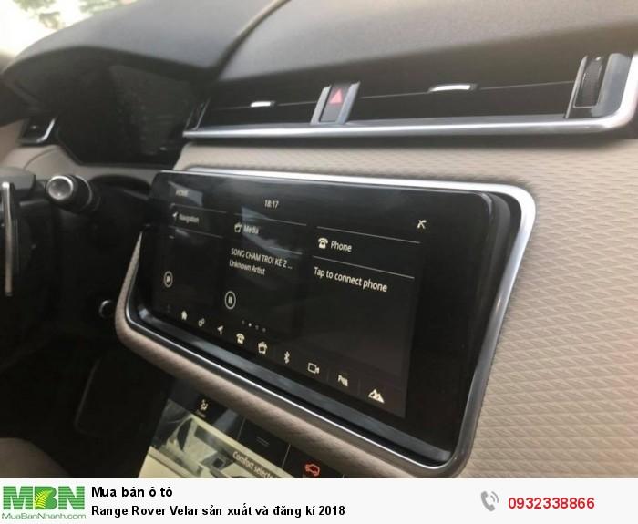 Range Rover Velar sản xuất và đăng kí 2018 5