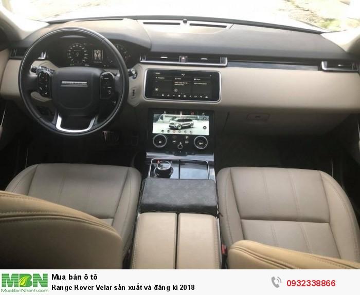 Range Rover Velar sản xuất và đăng kí 2018 6