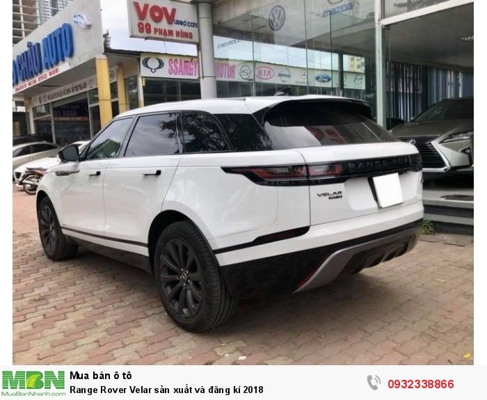 Range Rover Velar sản xuất và đăng kí 2018 8