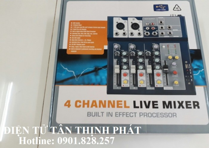 Mixer Peavey F4 USB2
