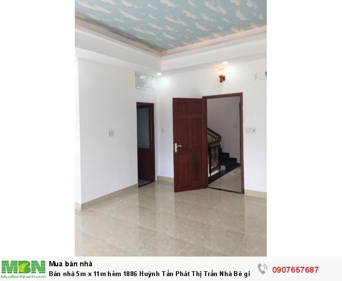 Bán nhà 5m x 11m hẻm 1886 Huỳnh Tấn Phát Thị Trấn Nhà Bè giá chỉ 2.35 tỷ