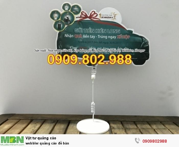 Wobbler quảng cáo để bàn0