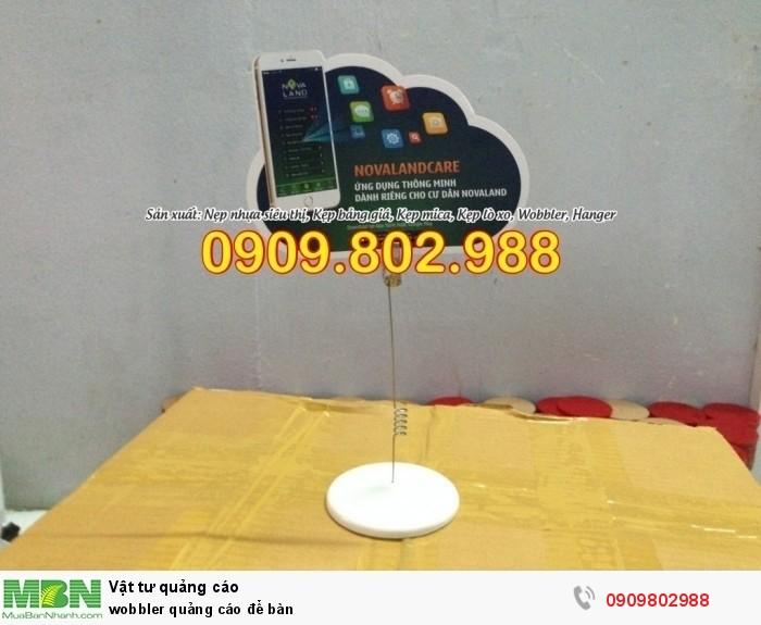 Wobbler quảng cáo để bàn1