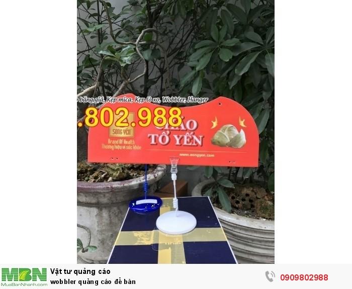 Wobbler quảng cáo để bàn5