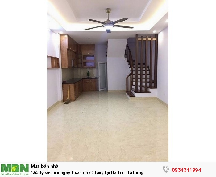 Sở hữu ngay 1 căn nhà 5 tầng tại Hà Trì - Hà Đông