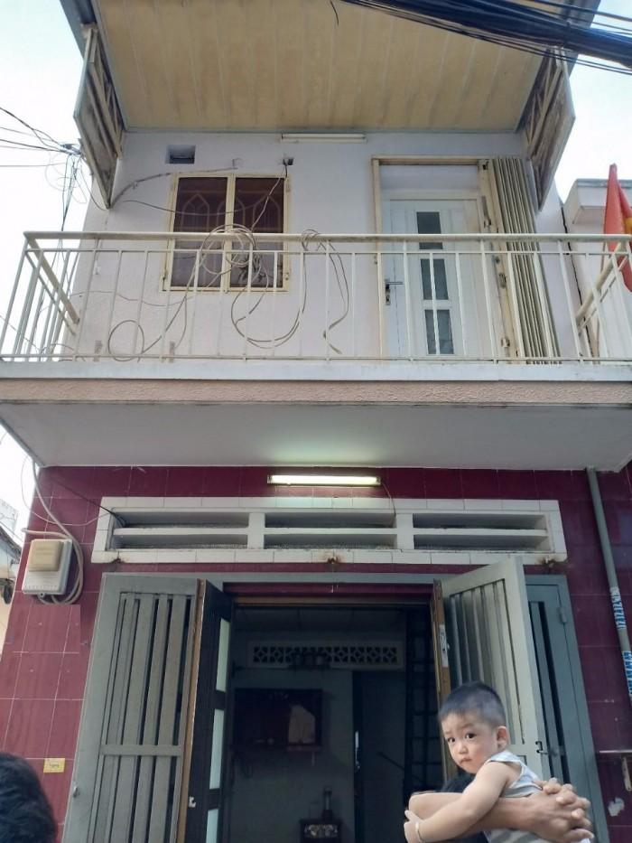 Nhà 2 mặt tiền hẻm 4m Nguyễn Súy,DT 3.2x8.1 vuông vức 1 lầu, hình thật