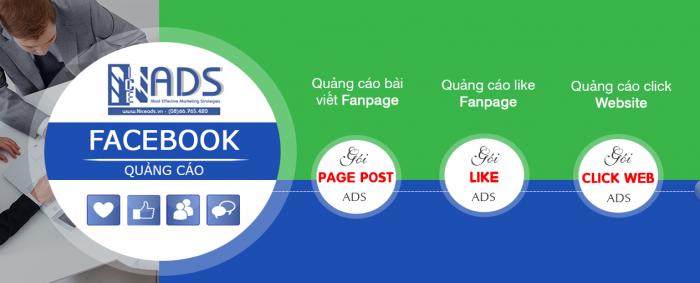 Quảng cáo Facebook từ 3 triệu/ tháng