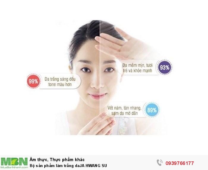 Bộ sản phẩm làm trắng daJA HWANG SU3