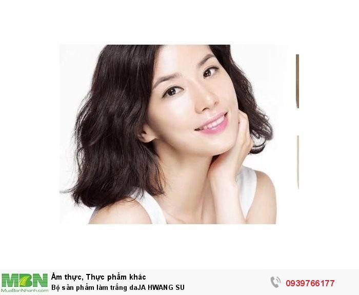 Bộ sản phẩm làm trắng daJA HWANG SU4