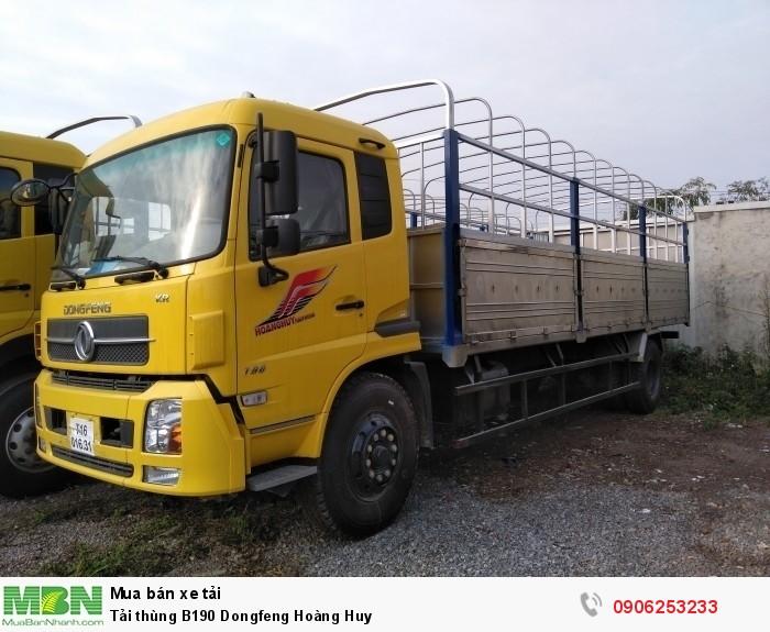 Tải thùng B190 Dongfeng Hoàng Huy
