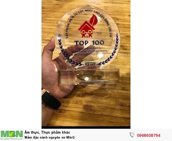 Mầm đậu nành nguyên xơ MinQ4