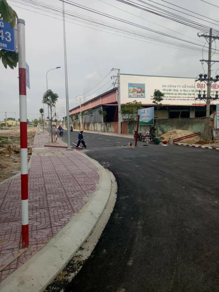 Bán đất thổ cư 95m2 sổ riêng gần ngã 4 Đông Thạnh đường Lê Văn Khương