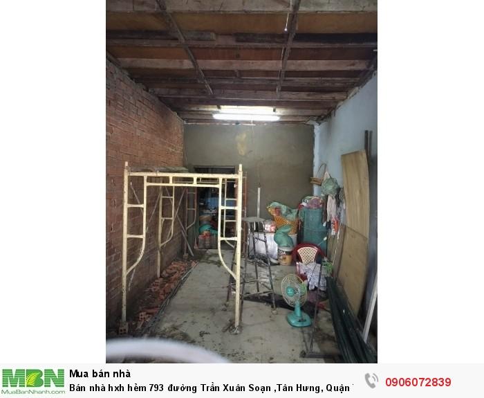 Bán nhà hxh hẻm 793 đường Trần Xuân Soạn ,Tân Hưng, Quận 7, DT 100m, giá 3.5 tỷ