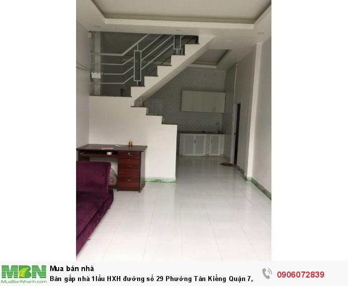 Bán gấp nhà 1lầu HXH đường số 29 Phường Tân Kiểng Quận 7, DT 100m , giá 4.1 Tỷ