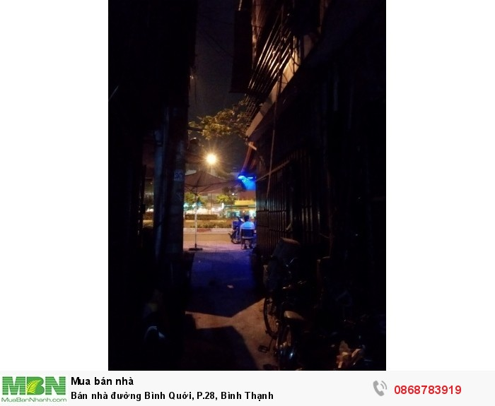 Bán nhà đường Bình Quới, P.28, Bình Thạnh