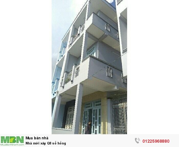 Nhà mới xây Q8 sổ hồng