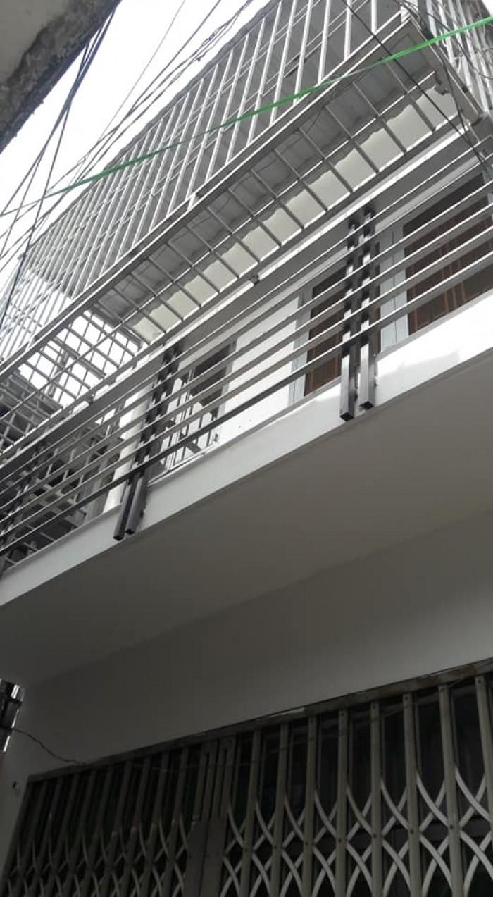 Nhà bán đường Bùi Quang là, p12 Gò Vấp dt,3.5x 7 đúc 1 trệt 1 lầu,