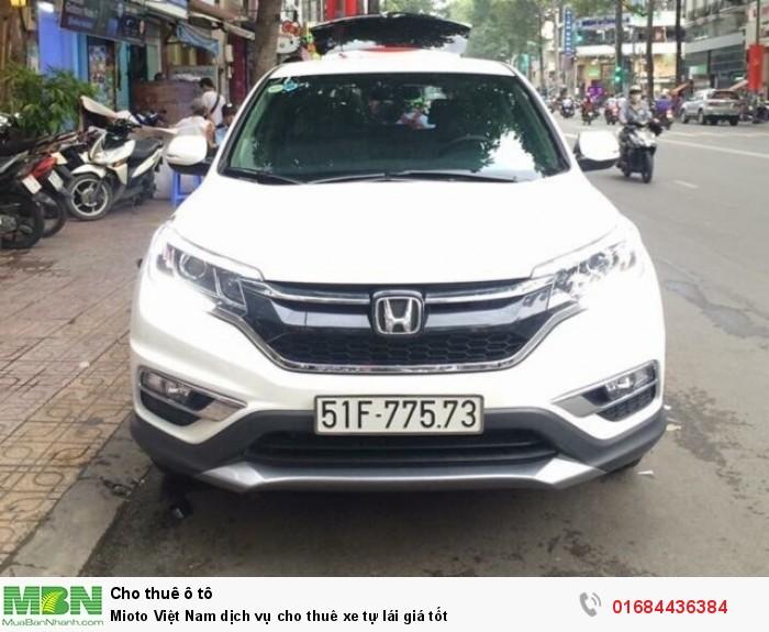 Mioto Việt Nam dịch vụ cho thuê xe tự lái giá tốt