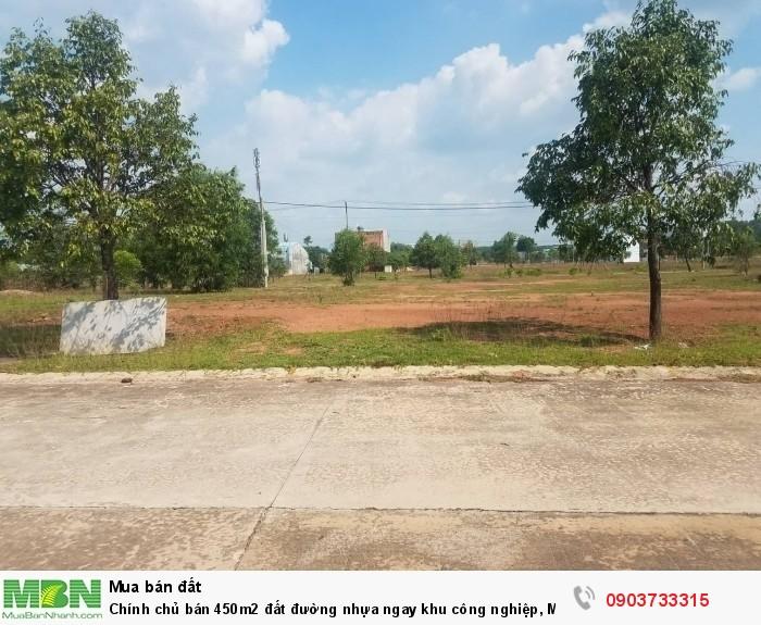 Chính chủ bán 450m2 đất đường nhựa ngay khu công nghiệp, Mỹ Phước để lấy vốn kinh doanh