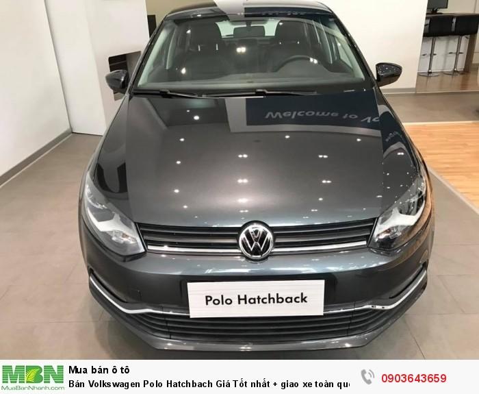 Bán Volkswagen Polo Hatchbach Giá Tốt nhất + giao xe toàn quốc +hỗ trợ vay 85%