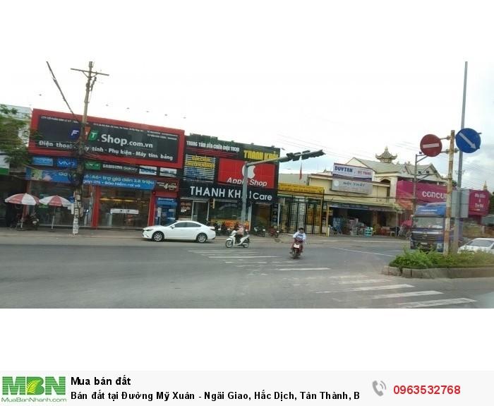 Bán đất tại Đường Mỹ Xuân, Hắc Dịch, Tân Thành, Bà Rịa Vũng Tàu diện tích 100m2 giá 2.2 Triệu/m²