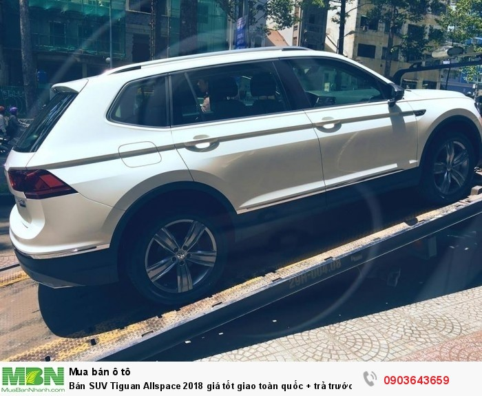 Bán SUV Tiguan Allspace 2018 giá tốt giao toàn quốc + trả trước chỉ 400tr + 090.364.3659 3