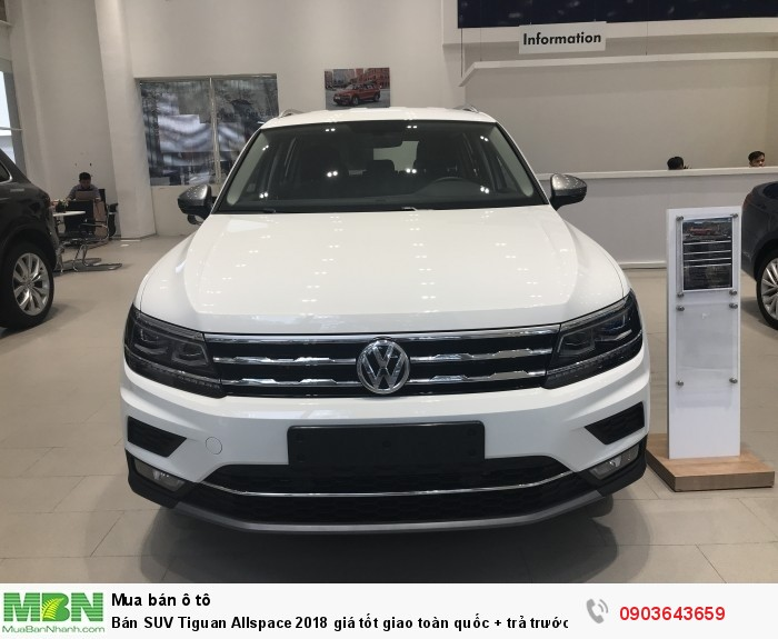 Bán SUV Tiguan Allspace 2018 giá tốt giao toàn quốc + trả trước chỉ 400tr + 090.364.3659 5