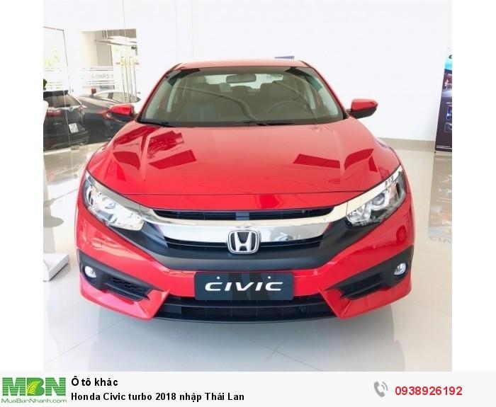 Honda Civic turbo 2019 nhập Thái Lan