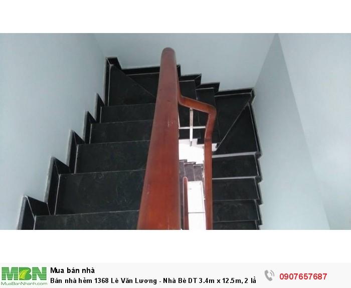 Bán nhà hẻm 1368 Lê Văn Lương - Nhà Bè DT 3.4m x 12.5m, 2 lầu 4PN