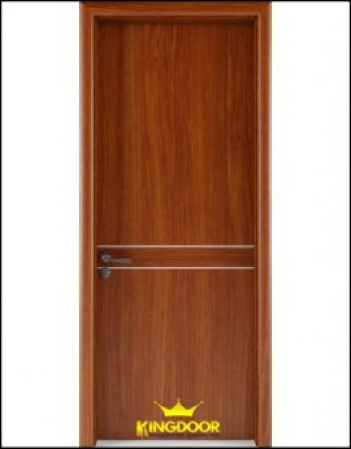 Cửa gỗ công nghiệp MDF Vneer, gỗ đẹp nhà sang1