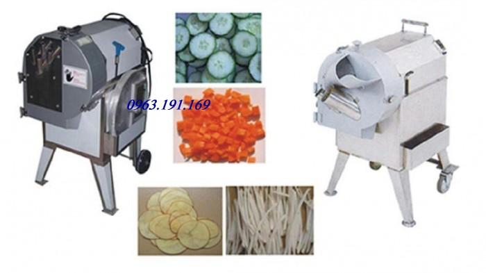 Máy thái rau củ đa năng, máy thái lát, hạt lựu, sợi2