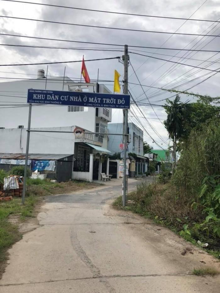 Bán Nền KDC Mặt Trời Đỏ Đối Diện BV Nhi Đồng DT 4.5x15 Thổ Cư