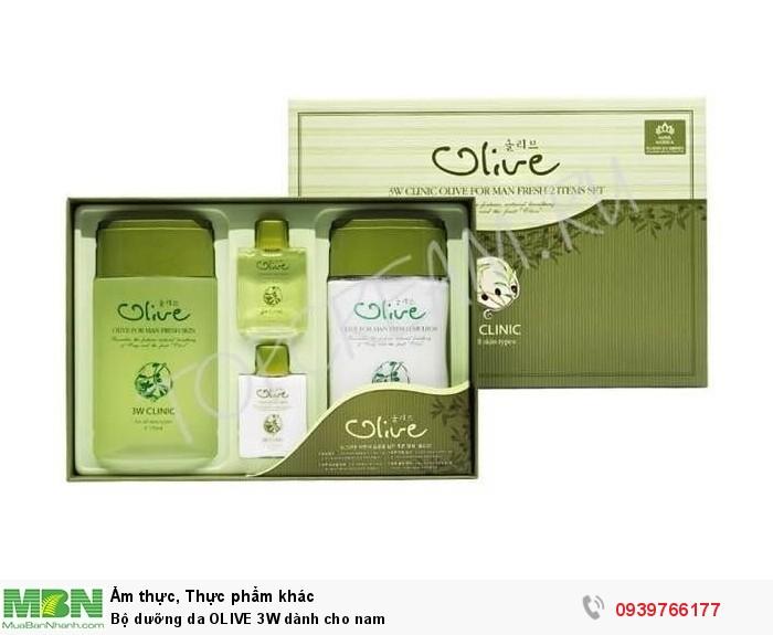 Bộ dưỡng da OLIVE 3W dành cho nam3
