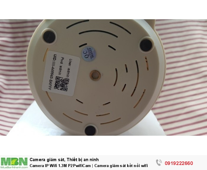 Camera IP Wifi 1.3M P2PwifiCam   Camera giám sát kết nối wifi3