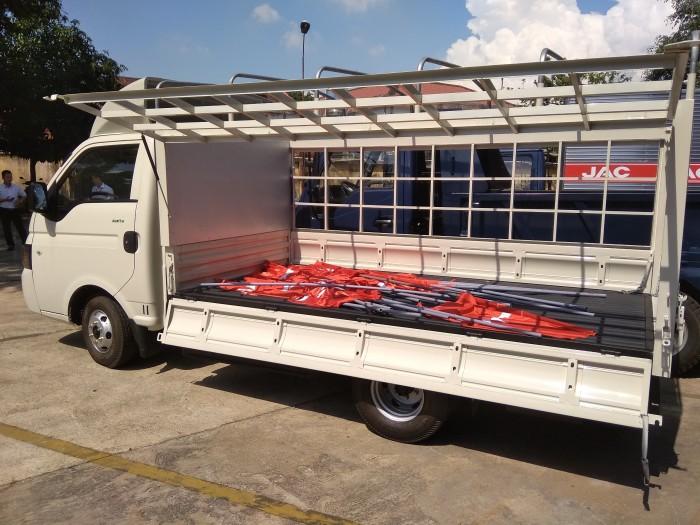 Xe tải jac 990kg mới thùng dài 3m2 giá cạnh tranh 0