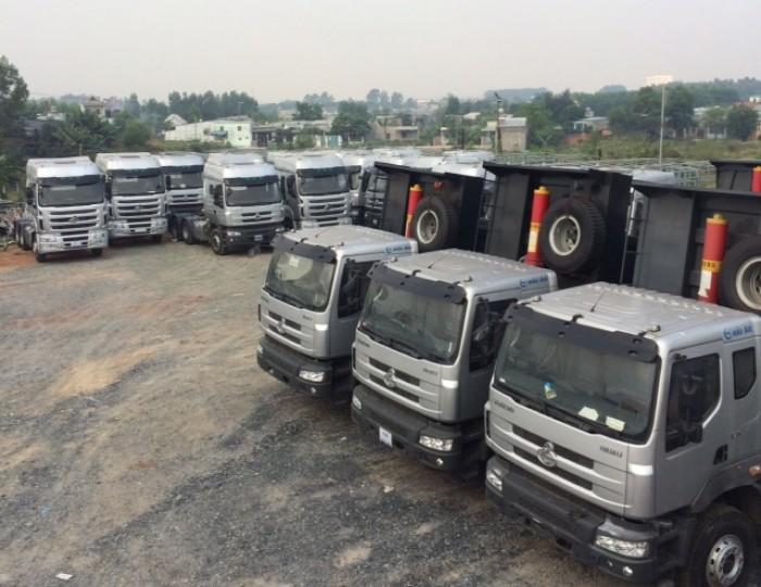 Xe tải ben 3 chân Chenglong ngay tại Đồng Nai