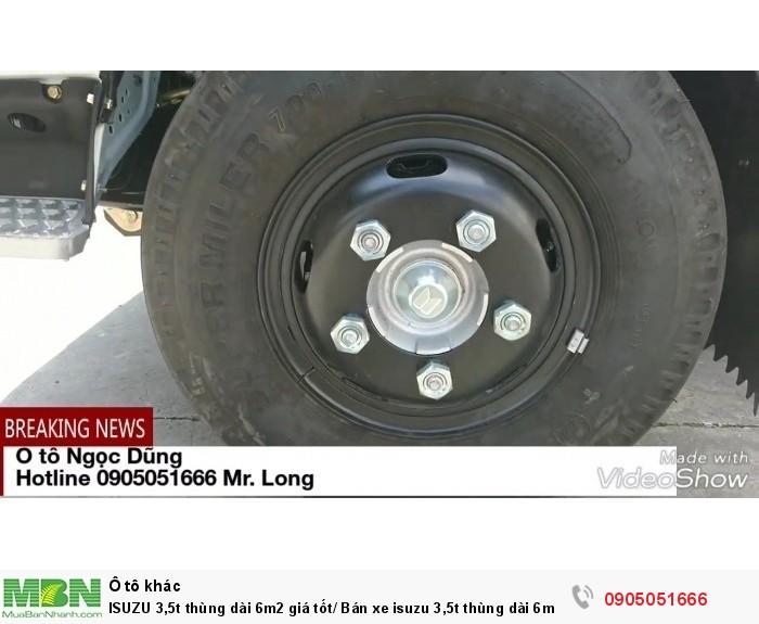 ISUZU 3,5t thùng dài 6m2 giá tốt/ Bán xe isuzu 3,5t thùng dài 6m2