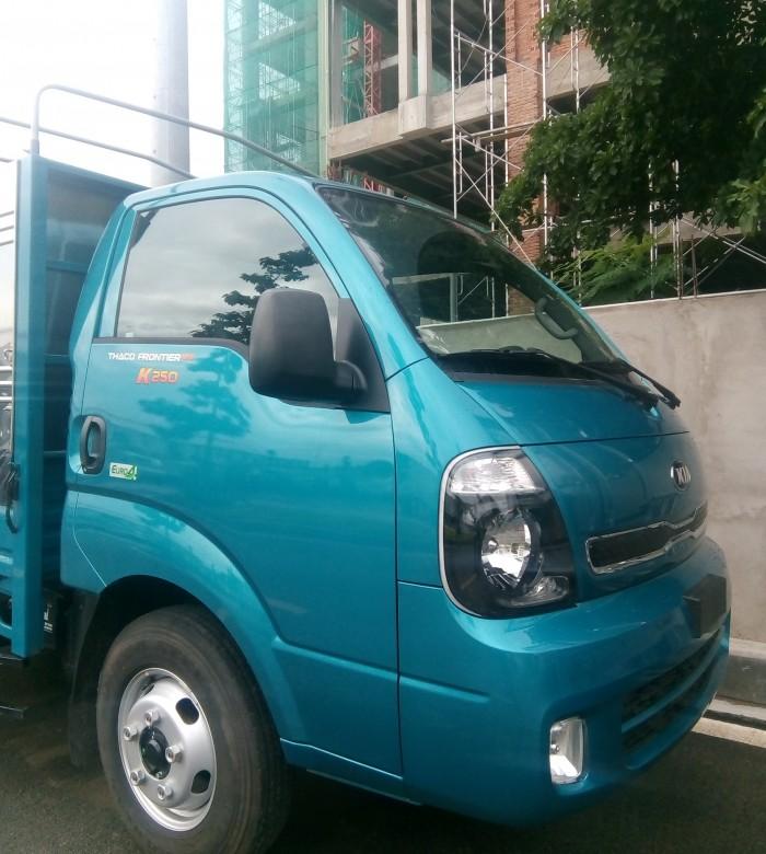 Xe tải 1.4T, xe tải Thaco Kia K250, xe mới 100%, động cơ mới 4
