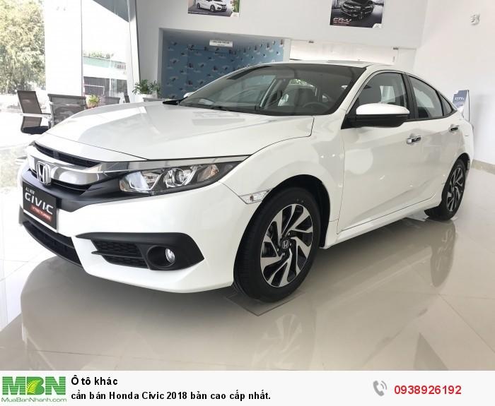 Cần bán Honda Civic 2019 bản cao cấp nhất.